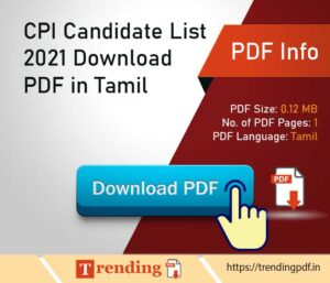 CPI-Candidate-List-2021-Download-PDF-in-Tamil