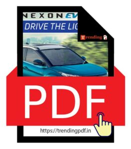 Download the Tata Nexon EV Car 2021 Brochure in PDF format