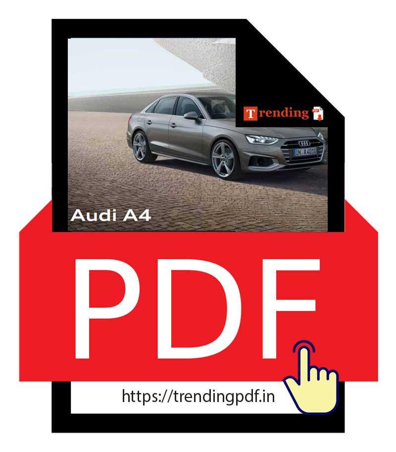 Download PDF Audi A4 Brochure