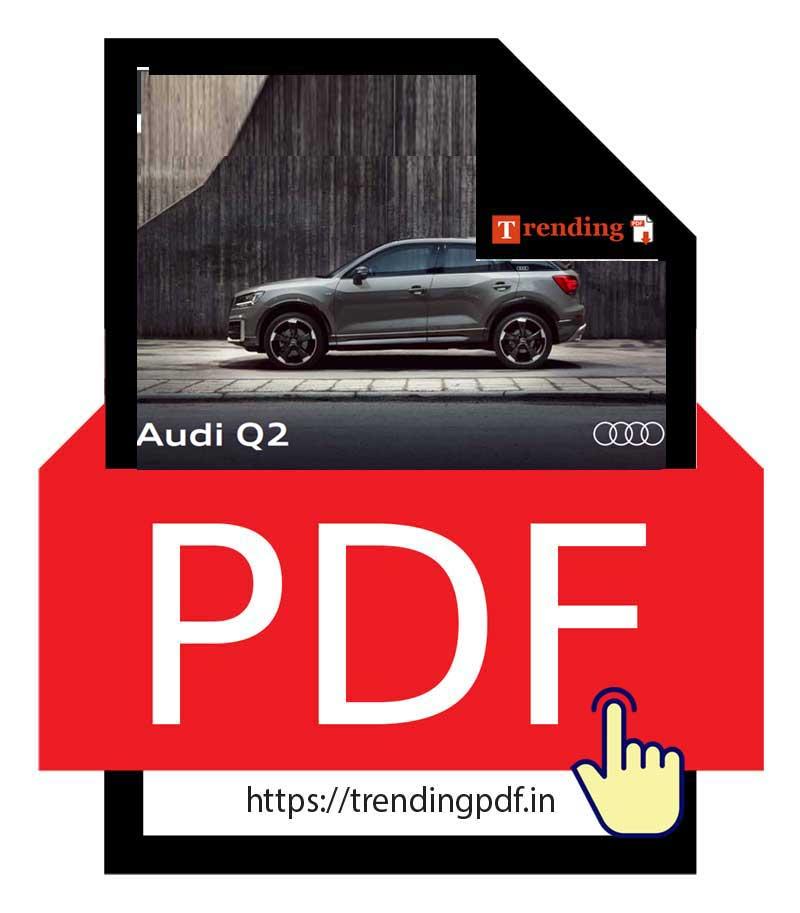 Download PDF Audi Q2 Brochure