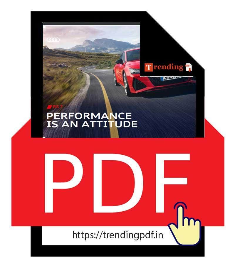 Download PDF Brochure Audi RS 7 Sportback