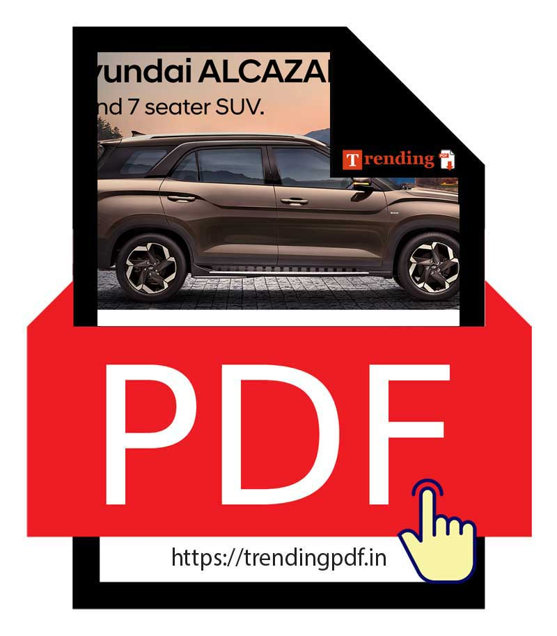 Download Hyundai Alcazar BS6 Brochure PDF