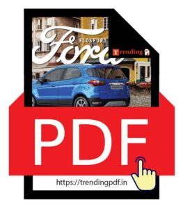 Download the Ford EcoSport Car Brochure 2021 in PDF format