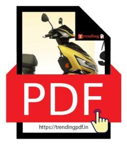 Download Okinawa I-Praise Plus Electric Scooter Brochure PDF