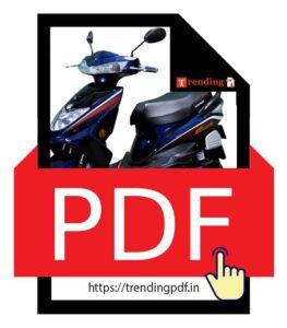 Download Okinawa Ridge Plus Electric Scooter Brochure PDF