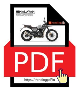 Download the Royal Enfield Himalayan Brochure in PDF format
