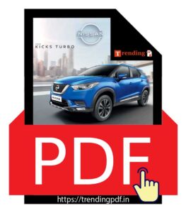 Nissan Kicks Turbo Car Brochure PDF