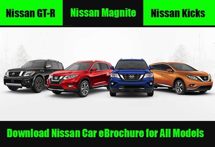 Download Nissan Car E-Brochure for All Models